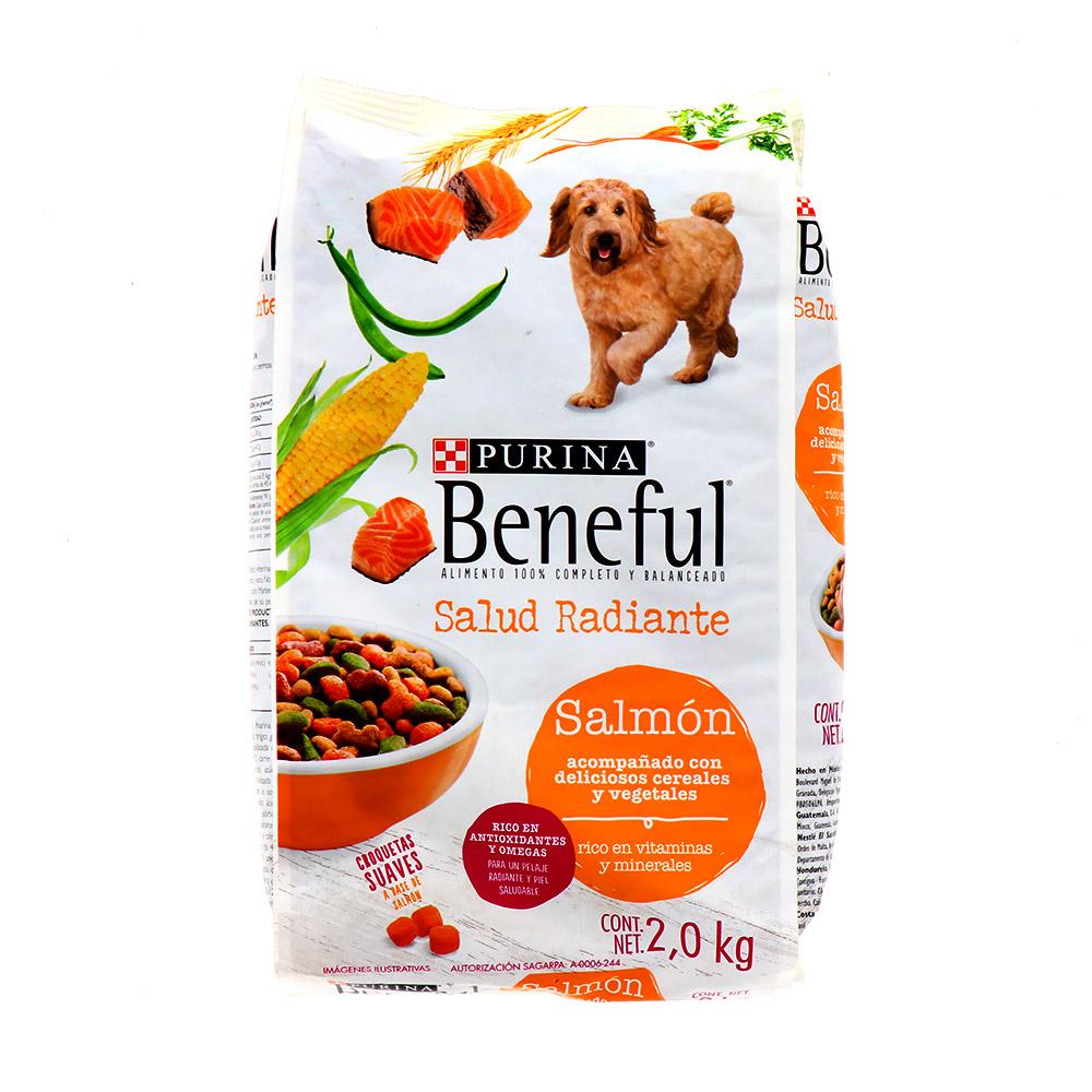 Comida Para Perro Purina Beneful Salud Radiante Salmon 2.0 Kg