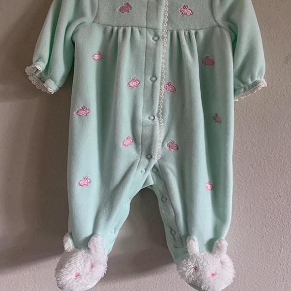 Pijama de Conejos Talla 3M