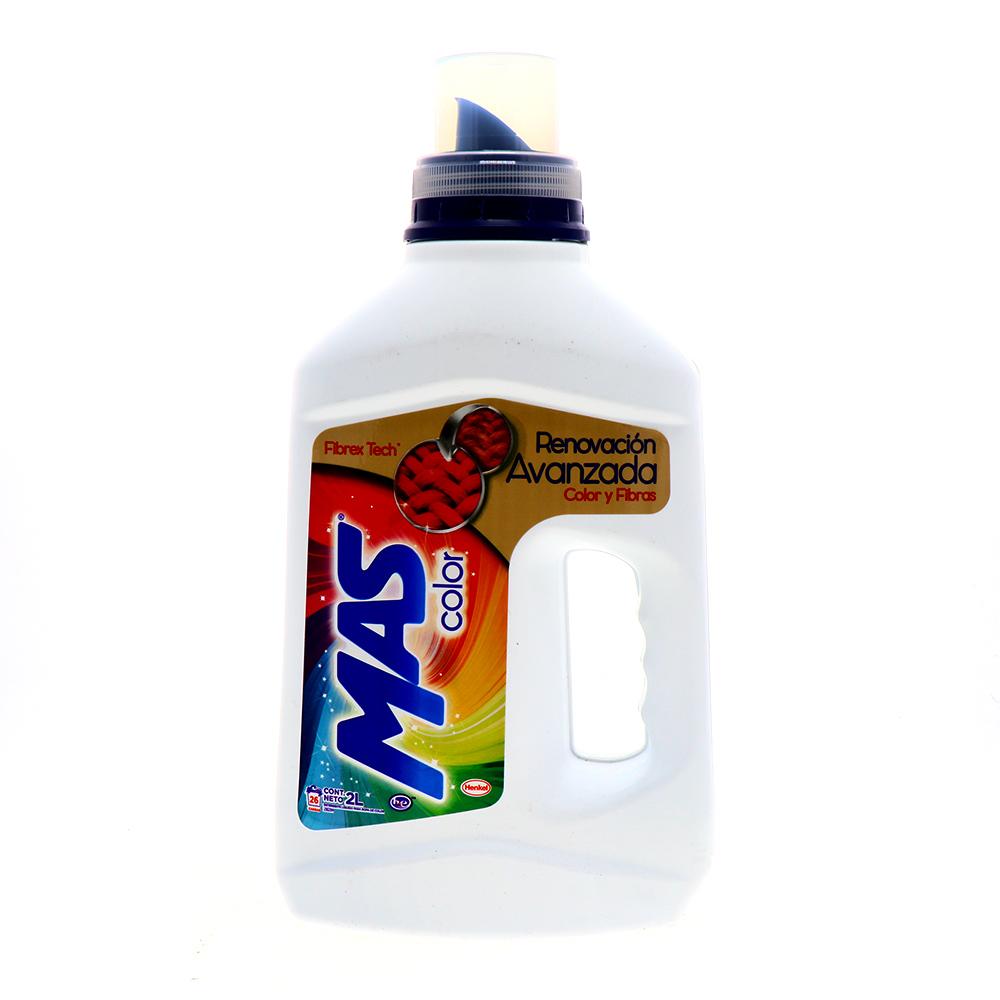 Detergente Líquido Mas Color Efecto Renovador 2 Lt