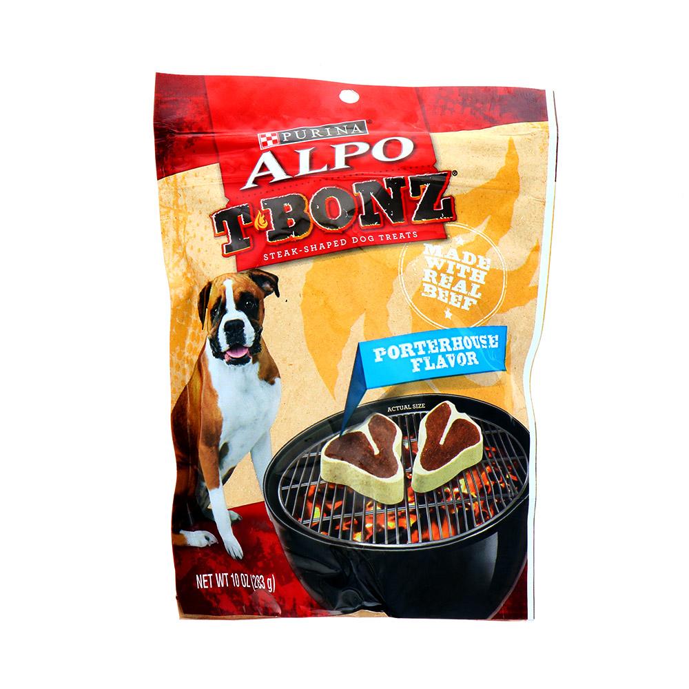 Snack Para Perro Alpo T-Bonz Porterhouse 10 Oz