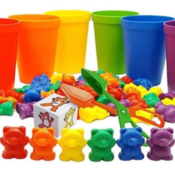 skoolzy counting bears