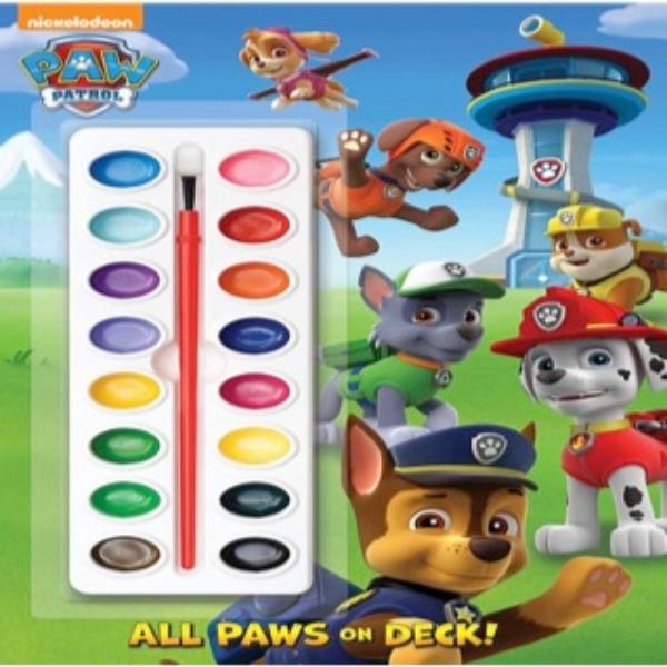 paw patrol painting book (acuarelas)