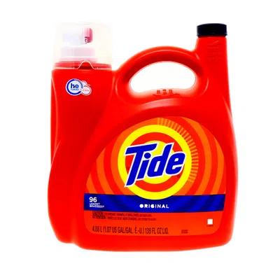 Detergente Liquido Tide Original 138 Oz
