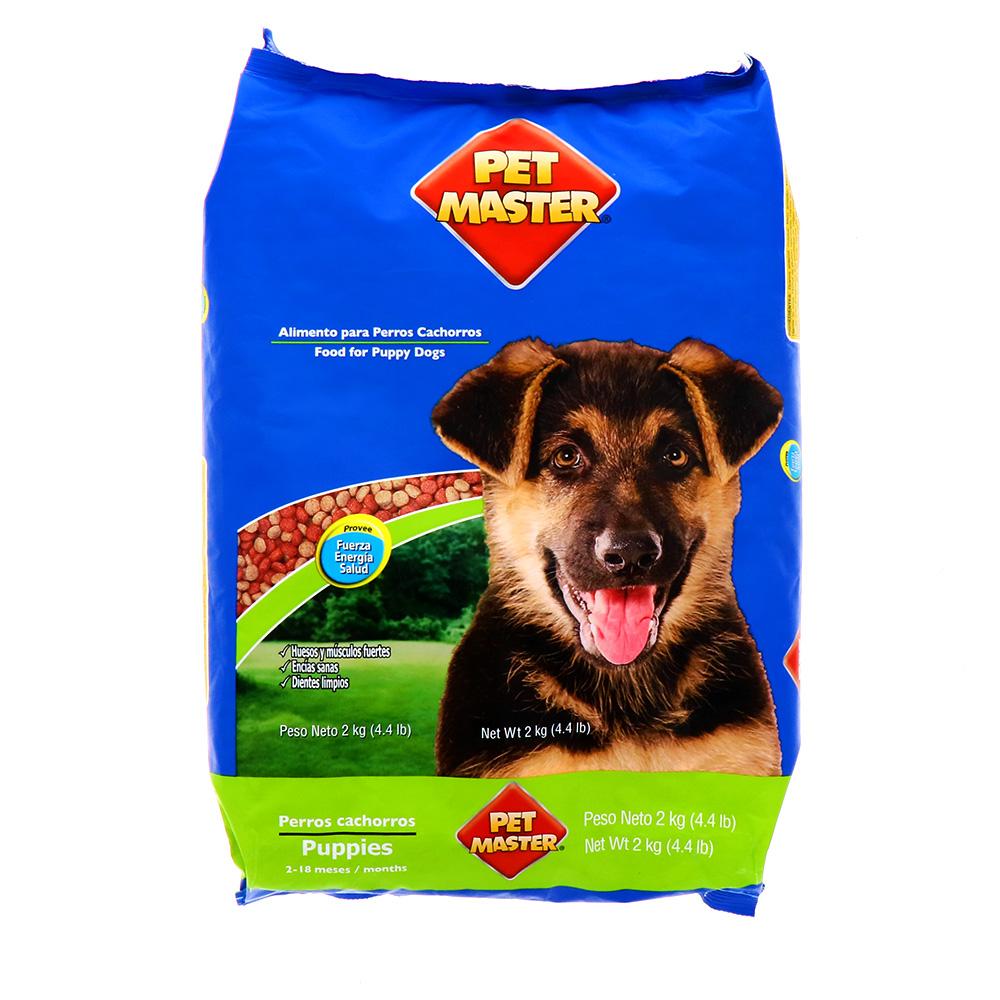 Comida Para Perro Pet Master Cachorro 2 Kg