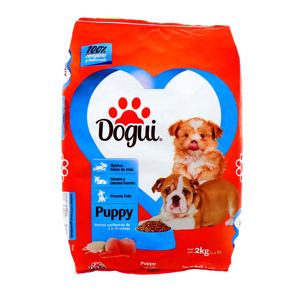 Comida Para Perro Dogui Cachorro Sabor Nutritivo 2 Kg