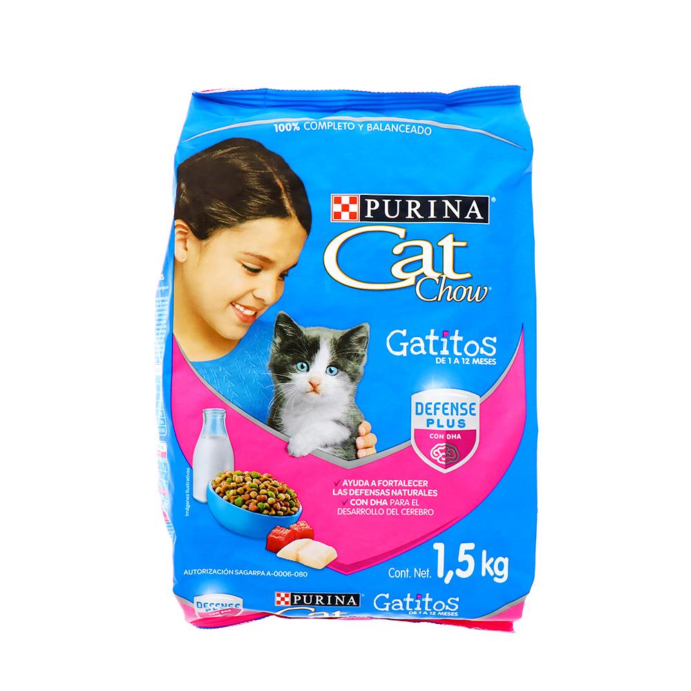 Comida Para Gato Cat Chow Gatitos 1.5 Kg